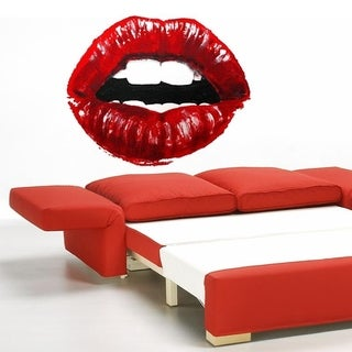 "Red Lips Art Full Color Wall Decal Sticker AN-239 FRST Size52""x80"""