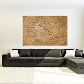 """Wooden Plank Full Color Wall Decal Sticker AN-237 FRST Size40""""x63"""""""