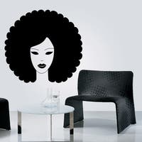 """Portrait Art Full Color Wall Decal Sticker AN-254 FRST Size40""""x40"""""""
