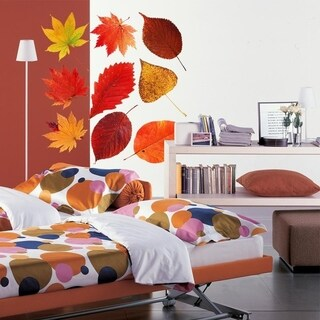 """Autum Leaves Full Color Wall Decal Sticker AN-261 FRST Size20""""x20"""""""