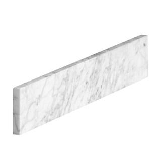 21 in. Carrara Marble Sidesplash