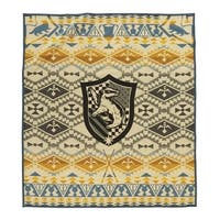 Pendleton Warner Brothers Harry Potter Hufflepuff Yellow Blanket