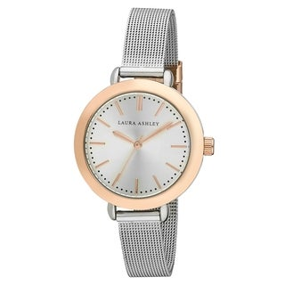 Laura Ashley Rainbow Mesh Watch