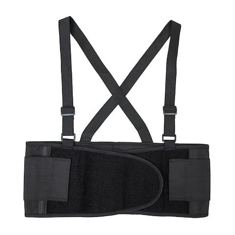 ALEKO Lower Back Support for Sciatica Scoliosis Belt Brace Extra Large