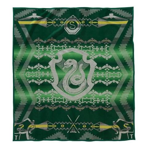Pendleton Warner Brothers Harry Potter Slytherin Green Blanket