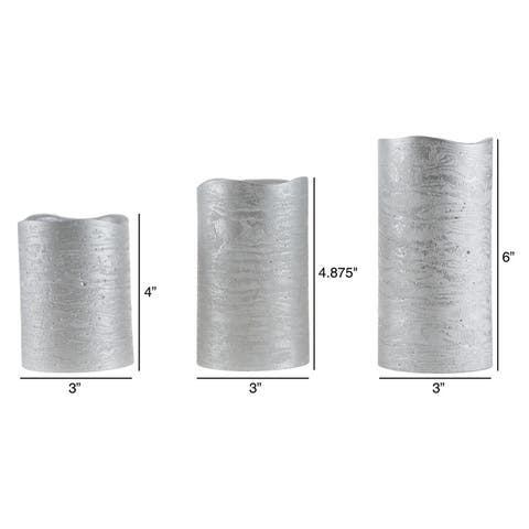 Flameless LED Candles Pillar Candles 3 PC by Windsor Home