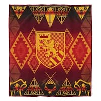 Pendleton Warner Brothers Harry Potter Gryffindor Red Blanket