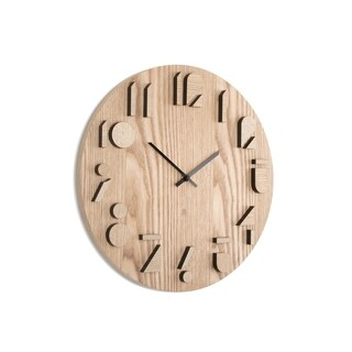 Umbra Shadow Wall Clock 15-1/2 inches