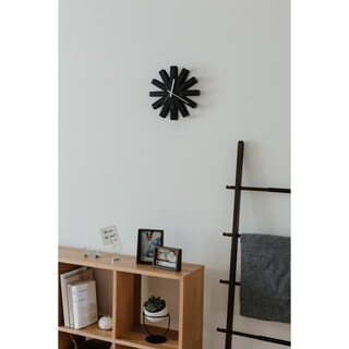Umbra Ribbon Wall Clock 12 inches