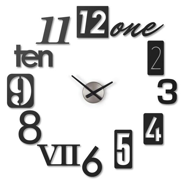 Umbra Numbra Wall Clock Black