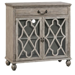 Hawthorne Estate Coventry Ash Pin 1-drawer 2-door Fretwork Sideboard