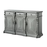 Sterling British Grey MDF Wood 3-drawer 3-door Sideboard