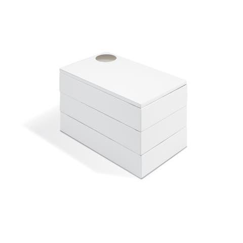 Umbra Spindle White Storage Box