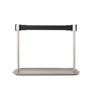 Umbra Limbo Black/Nickel Paper Towel Holder With Tray