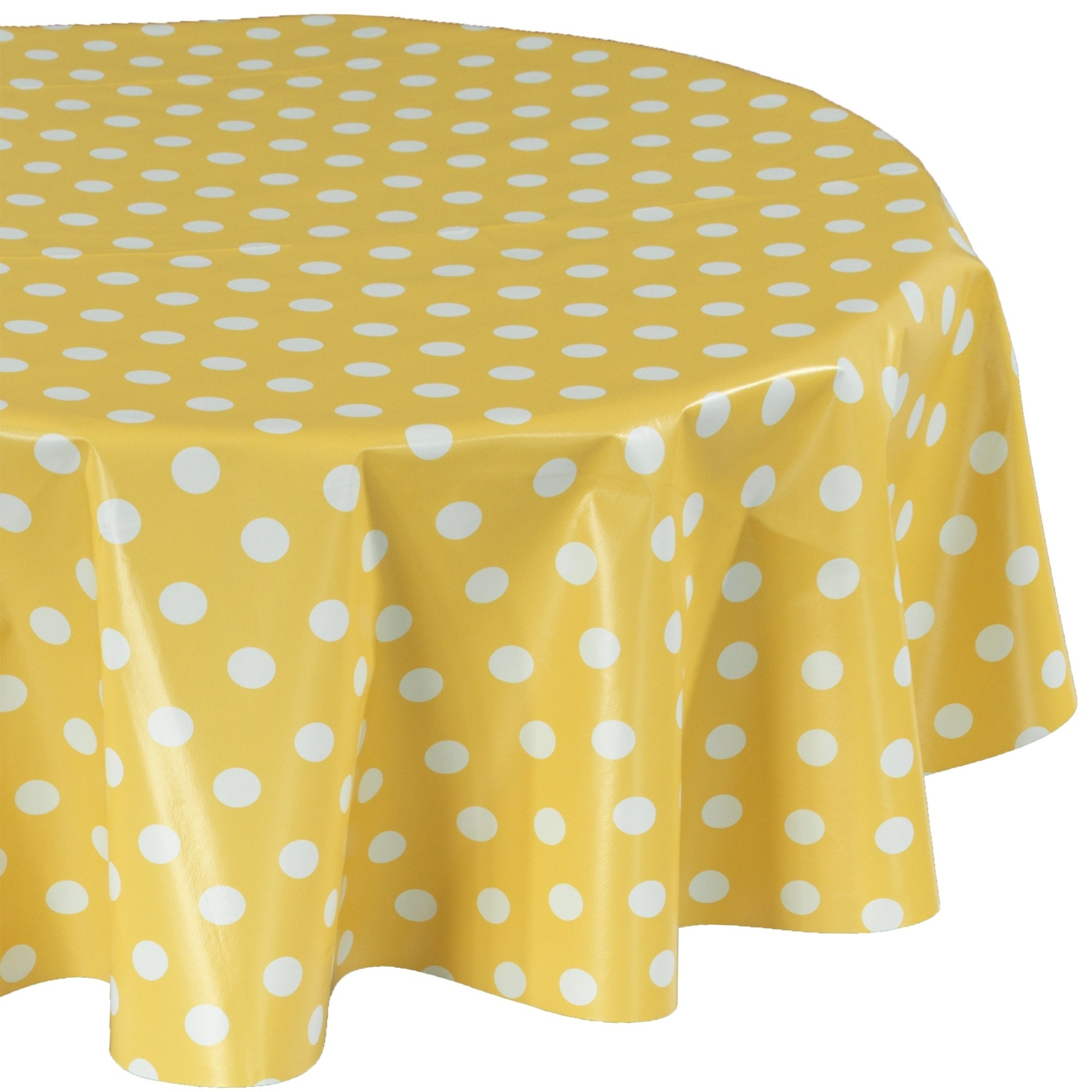 Berrnour Home Vinyl Polka Dots Design Indoor/Outdoor Tablecloth   eBay