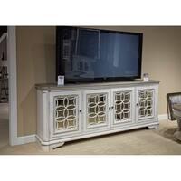 Magnolia Manor Antique White TV Console