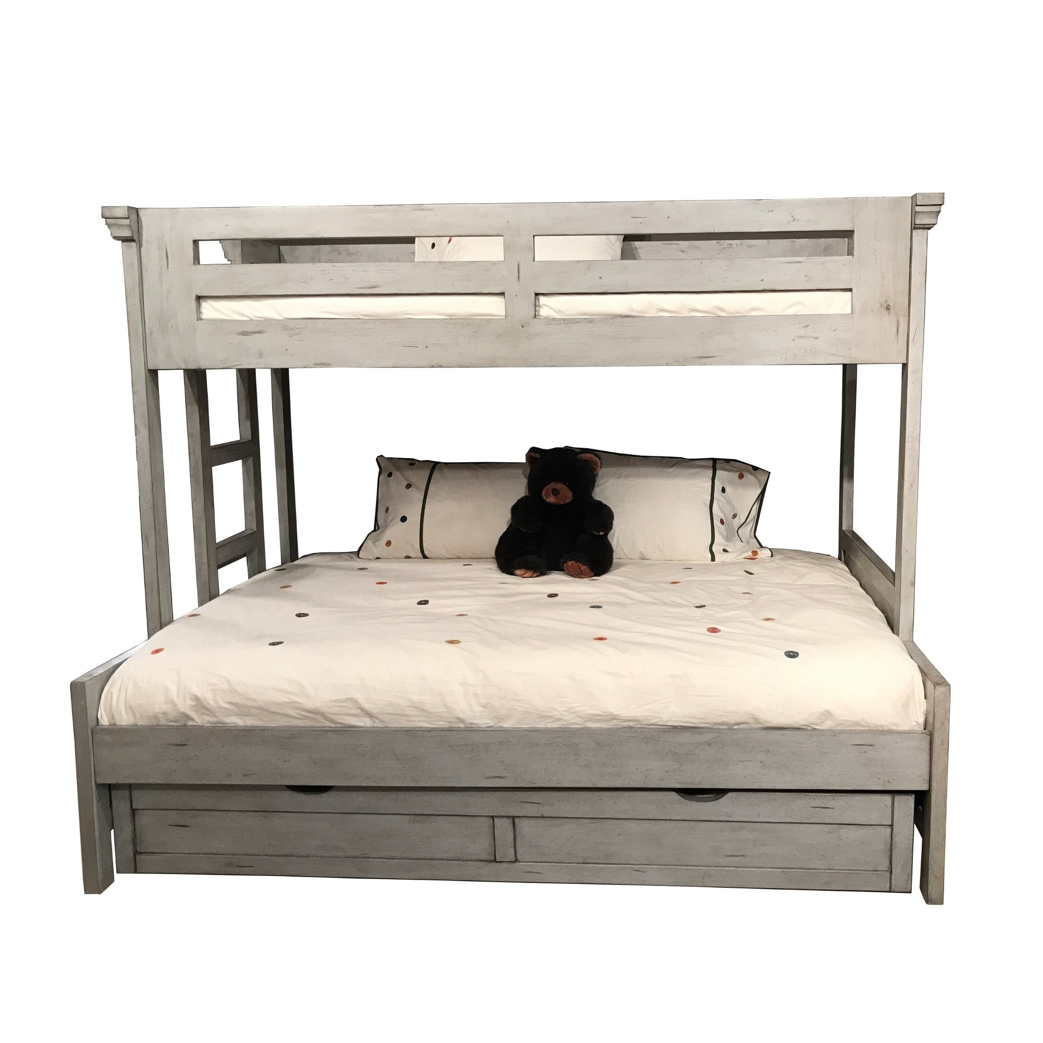 Lakewood Twin Over Full Loft Bed With Optional Trundle By Greyson Living Overstock 20716452