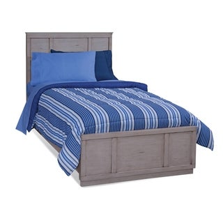 Parker Driftwood Panel Bed with Optional Trundle by Greyson Living