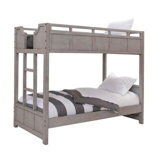 Parker Driftwood Twin over Twin Bunkbed by Greyson Living