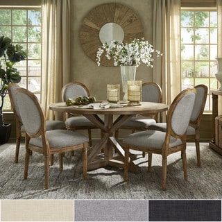 Deana Round Dining Set with Round Back Chairs by iNSPIRE Q Artisan & Round Kitchen \u0026 Dining Room Sets For Less   Overstock.com