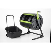 MAZE Two Stage Compost Tumbler With Cart