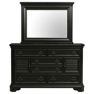 Picket House Furnishings Bradshaw Dresser & Mirror Set - Espresso