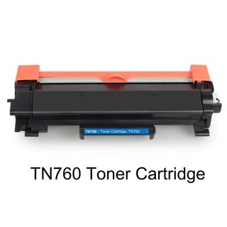 NO CHIP Compatible 1 Pack TN760 High Yield Toner For Brother HL-L2350DW L2390DW - Black