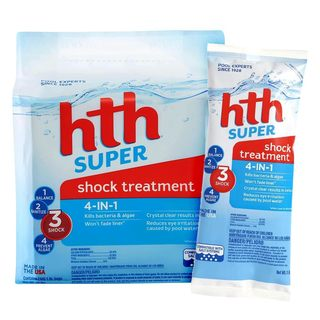 HTH 4-In-1 Super Shock Treatment for Swimming Pools