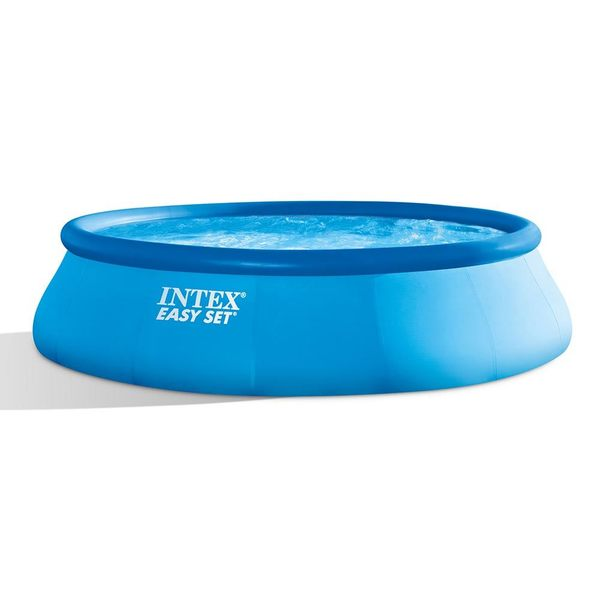 Shop Intex 15 ft. x 48 in. Easy Set Swimming Pool with 1,000 GPH ...