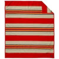 Pendleton Serape Scarlet Blanket - Twin