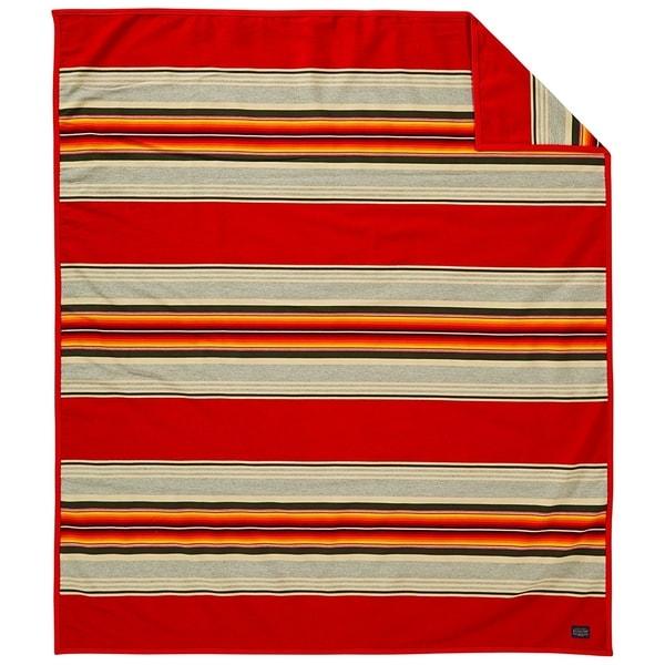 bada91b4c0 Shop Pendleton Serape Scarlet Blanket - Twin - Free Shipping Today -  Overstock.com - 20717401