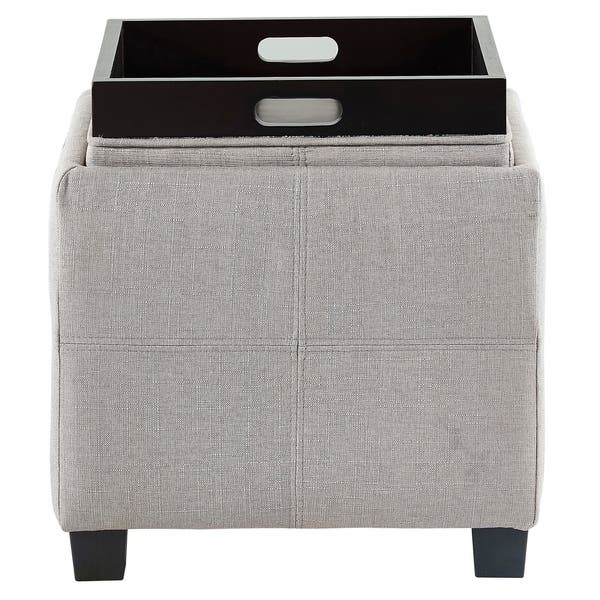 Fine Shop Luxy Storage Cube With Reversible Tray Lid On Sale Gmtry Best Dining Table And Chair Ideas Images Gmtryco