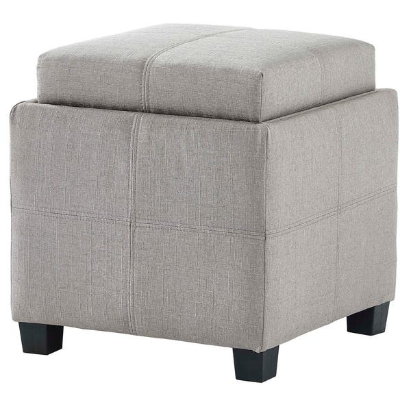 Magnificent Shop Luxy Storage Cube With Reversible Tray Lid On Sale Gmtry Best Dining Table And Chair Ideas Images Gmtryco