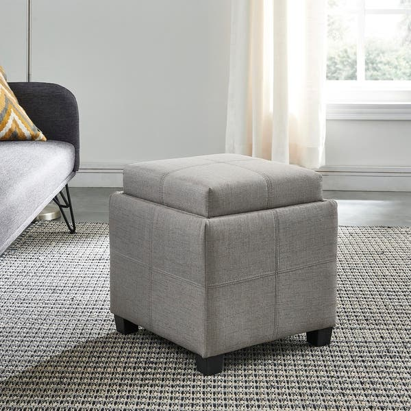 Amazing Shop Luxy Storage Cube With Reversible Tray Lid On Sale Gmtry Best Dining Table And Chair Ideas Images Gmtryco