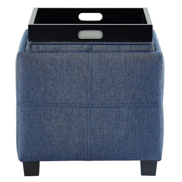Enjoyable Shop Luxy Storage Cube With Reversible Tray Lid On Sale Gmtry Best Dining Table And Chair Ideas Images Gmtryco