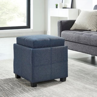 Luxy-Storage Cube With Reversible Tray Lid