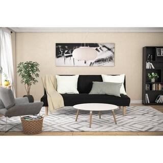 DHP Estera Black Sleeper Sofa