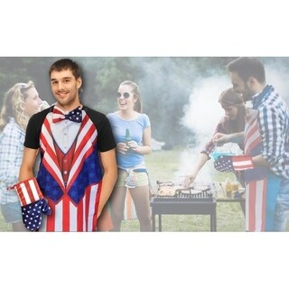 Uncle Sam Cooking Mitt Apron