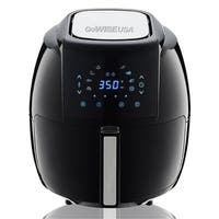 GoWISE USA 5.8-Quarts 8-in-1 Electric Air Fryer XL Black