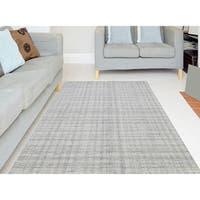 Ashley Ivory New Zealand Wool Handmade Rug - 8'6 x 11'6