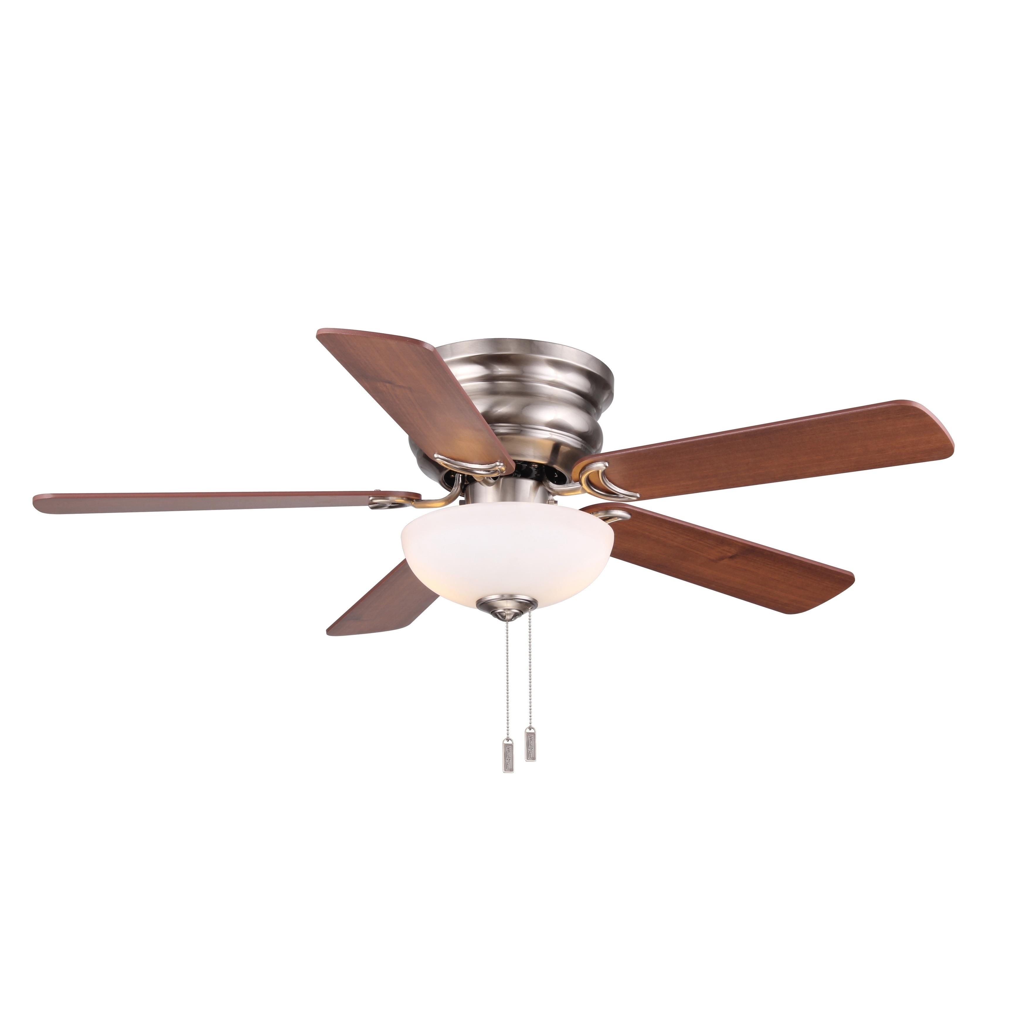 Image of: Shop Black Friday Deals On Frisco 44 Flush Mount Ceiling Fan Overstock 20717783