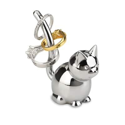 Umbra Zoola Chrome Cat Ring Holder