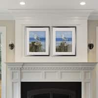 Keeping Watch -2 Piece Set - Silver Frame