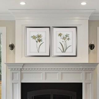 Neutral Botanical I -2 Piece Set - Silver Frame