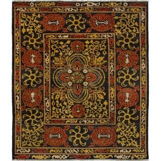 eCarpetGallery Hand-knotted Shalimar Wool Rug
