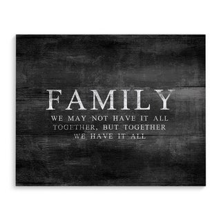 FAMILY Premium Canvas Gallery Wrap