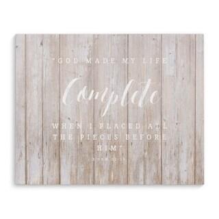 COMPLETE Premium Canvas Gallery Wrap