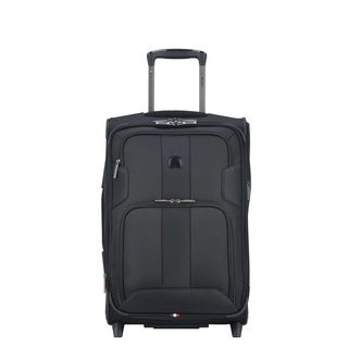 DELSEY Paris Sky Max Expandable Rolling 2 Wheel Carry-On Suitcase