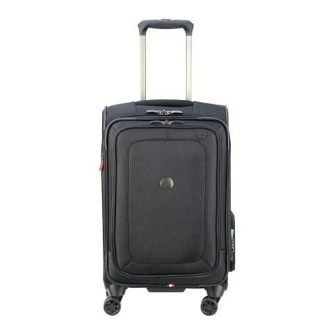 DELSEY Paris Cruise Lite Softside Carry-On Expandabile Spinner Suiter Trolley Suitcase