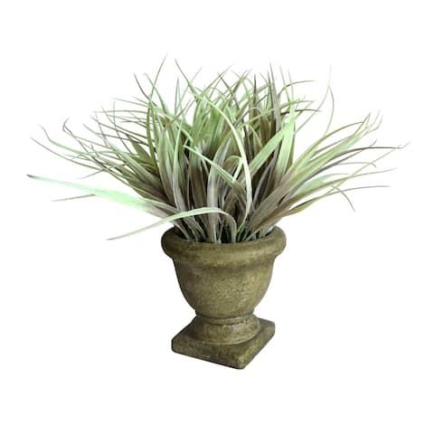 11''H Green PE Bonsai Floral